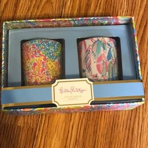 Lilly Pulitzer candles